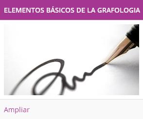 elementos basicos de grafologia
