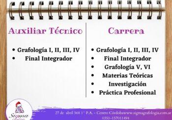 Diferencia entre Auxiliar Técnico y Carrera.